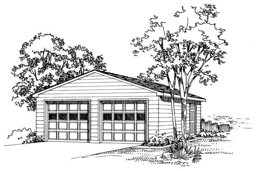 Main image for house plan # 18805