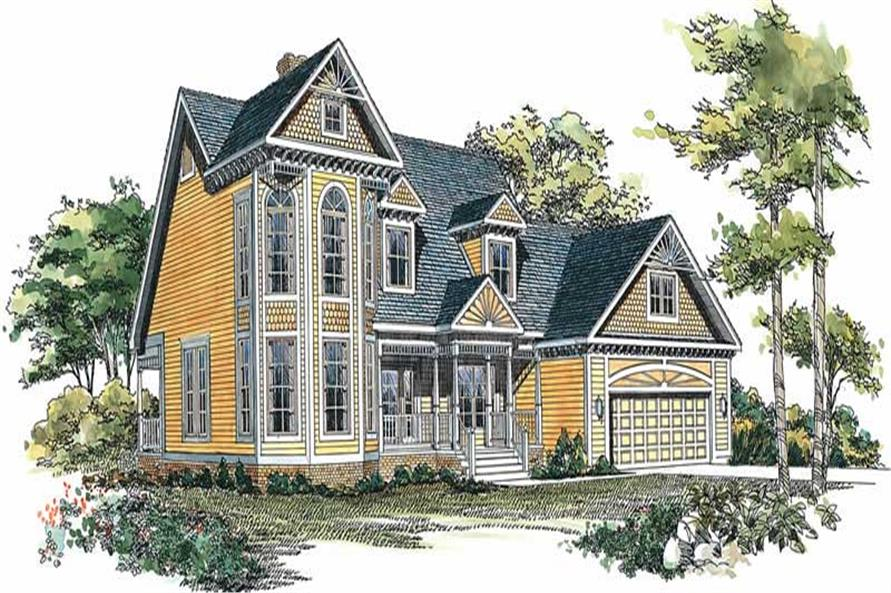 Main image for house plan # 18783