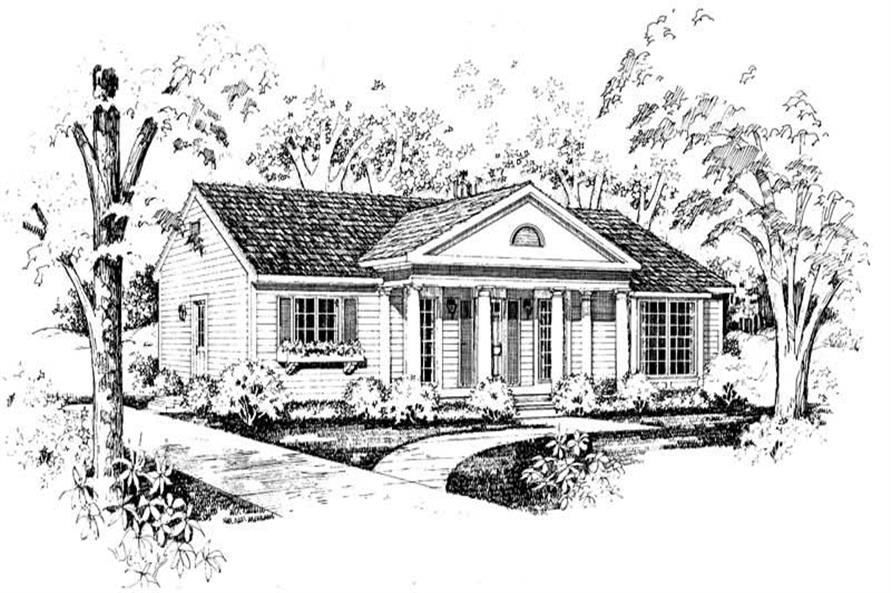 Main image for house plan # 18773