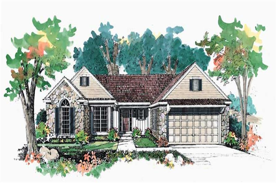 Main image for house plan # 18775