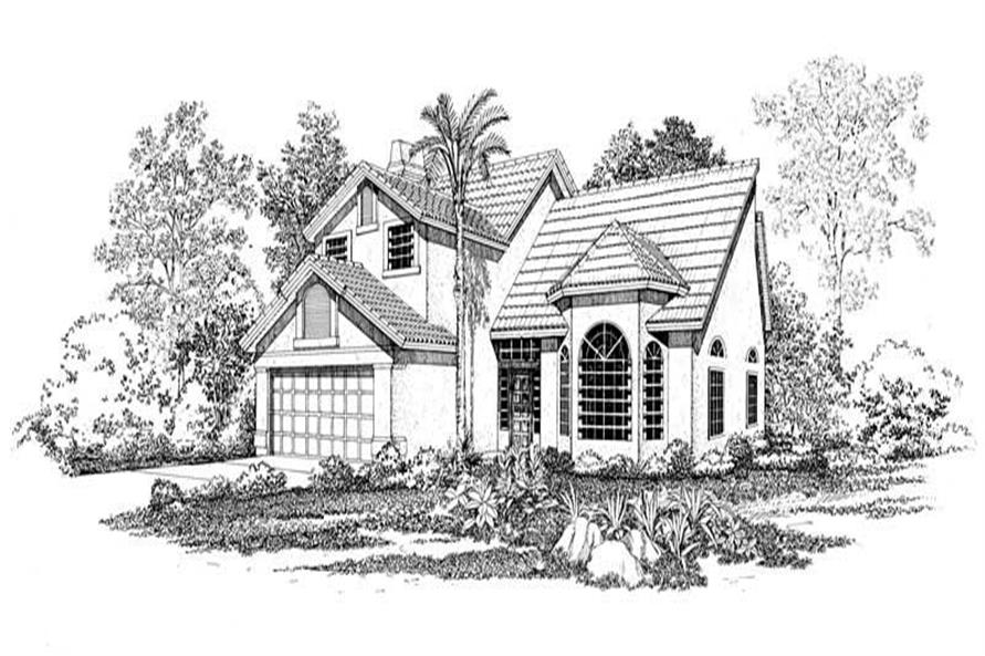Main image for house plan # 18448