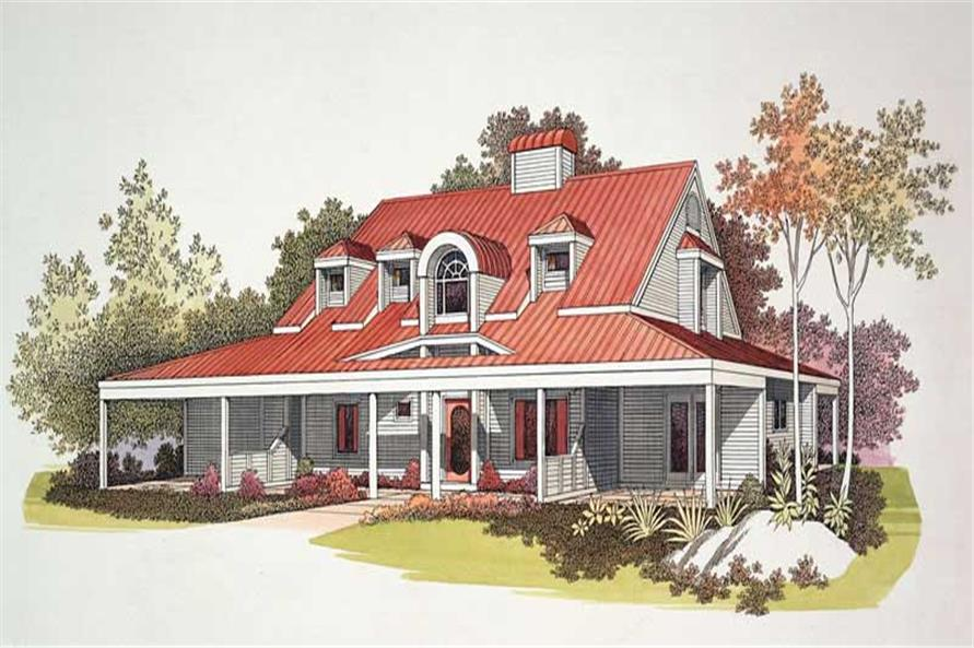 Main image for house plan # 18450