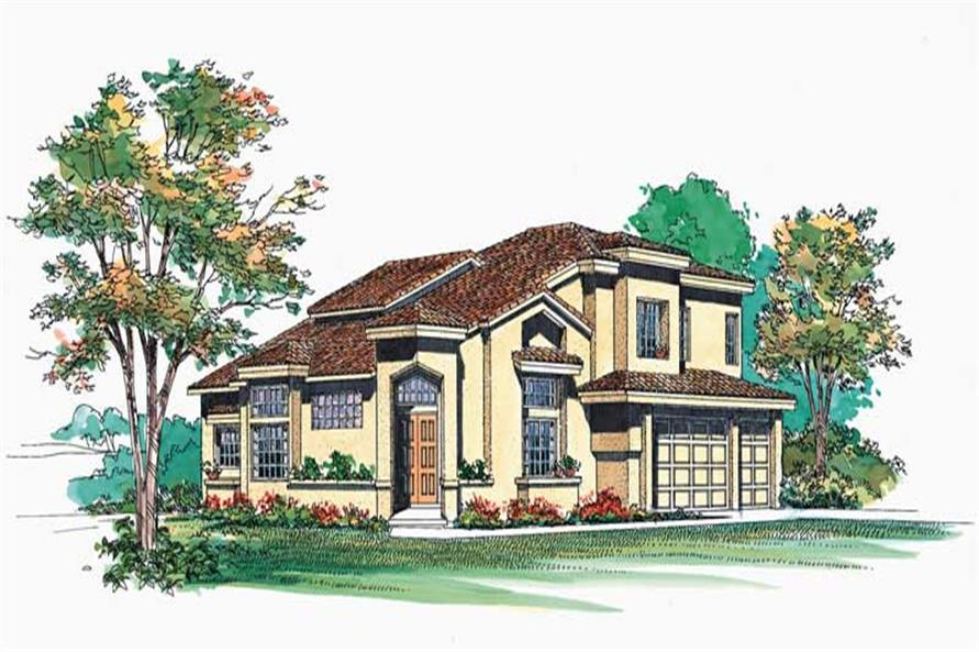 Main image for house plan # 18464