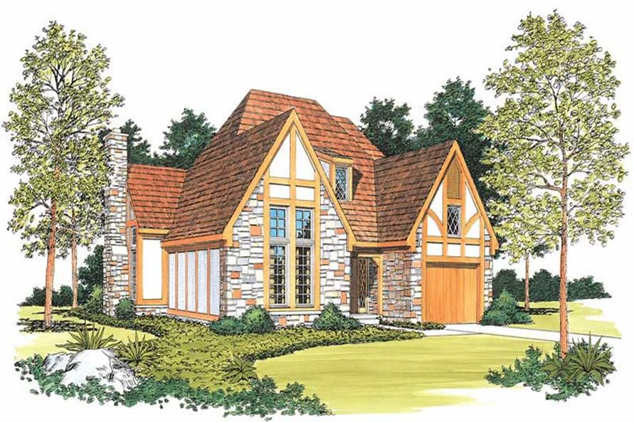 Main image for house plan # 18593