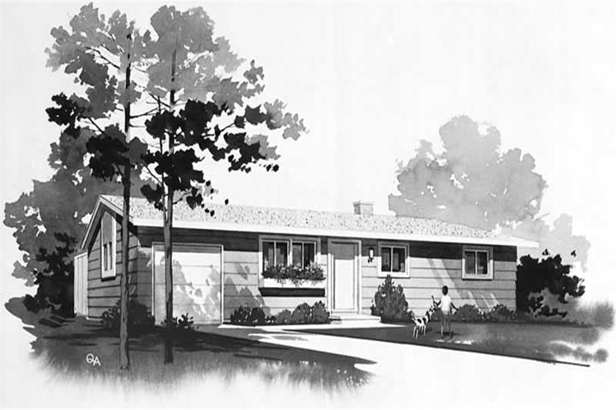Main image for house plan # 18588