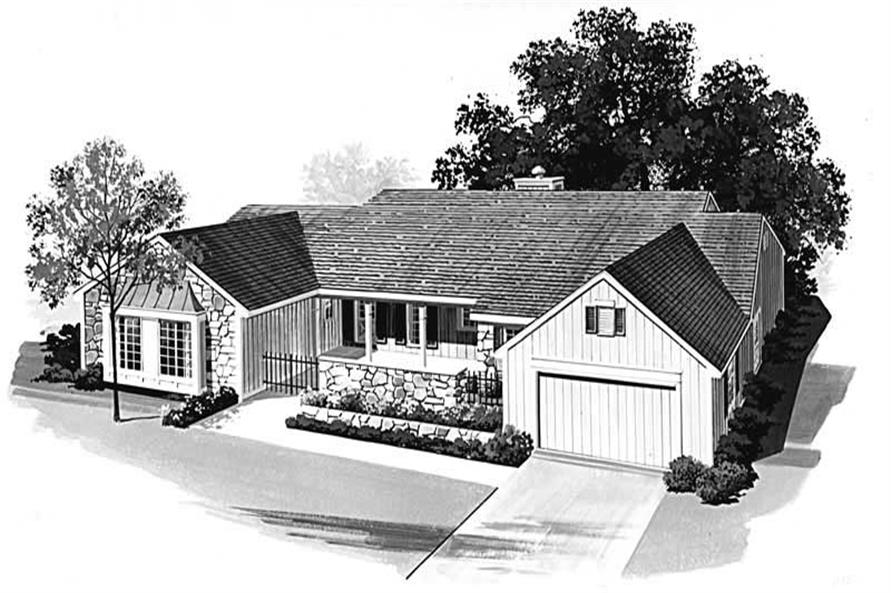 Main image for house plan # 18490