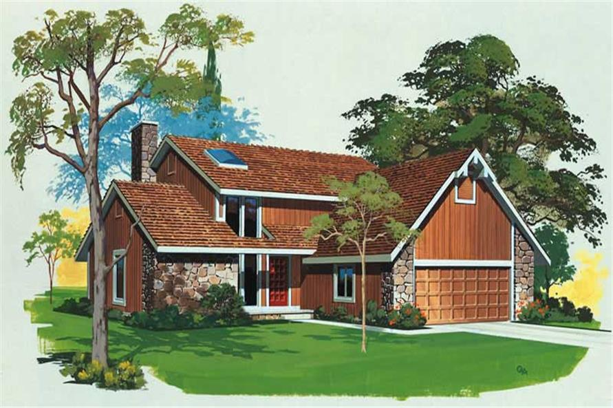 Main image for house plan # 18509