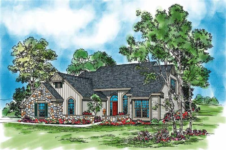 Main image for house plan # 18527