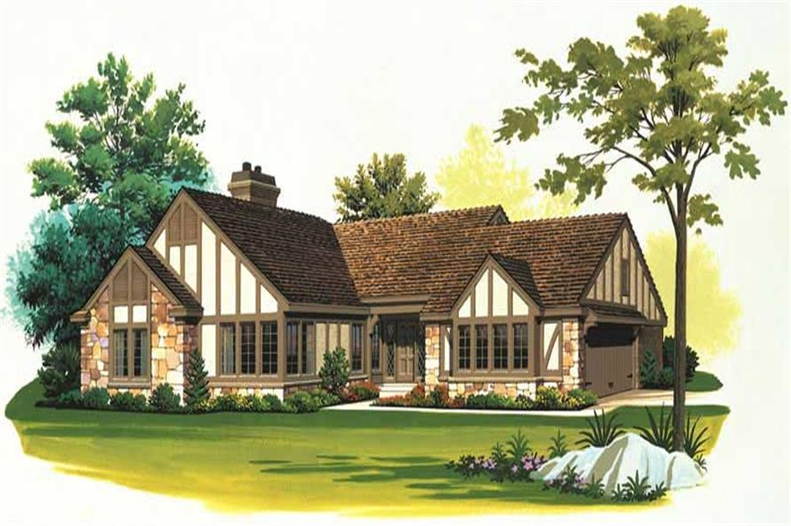 Main image for house plan # 18549