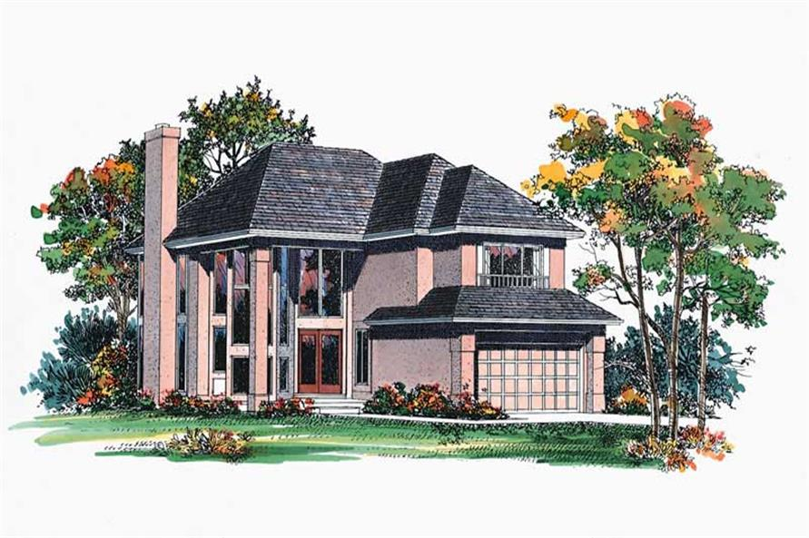 Main image for house plan # 18474