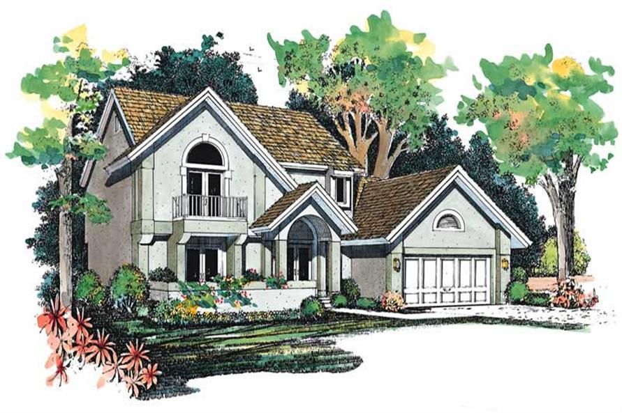 Main image for house plan # 18276