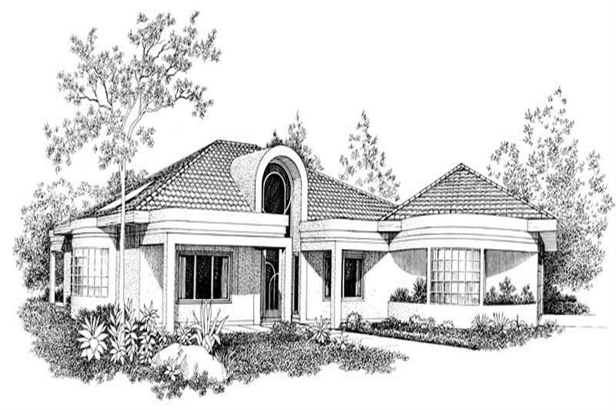 Main image for house plan # 18415