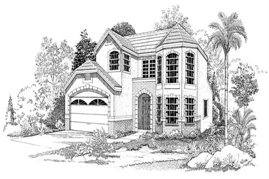 Main image for house plan # 18437