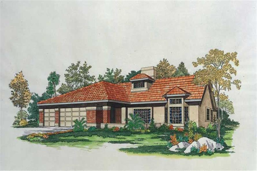 Main image for house plan # 18449