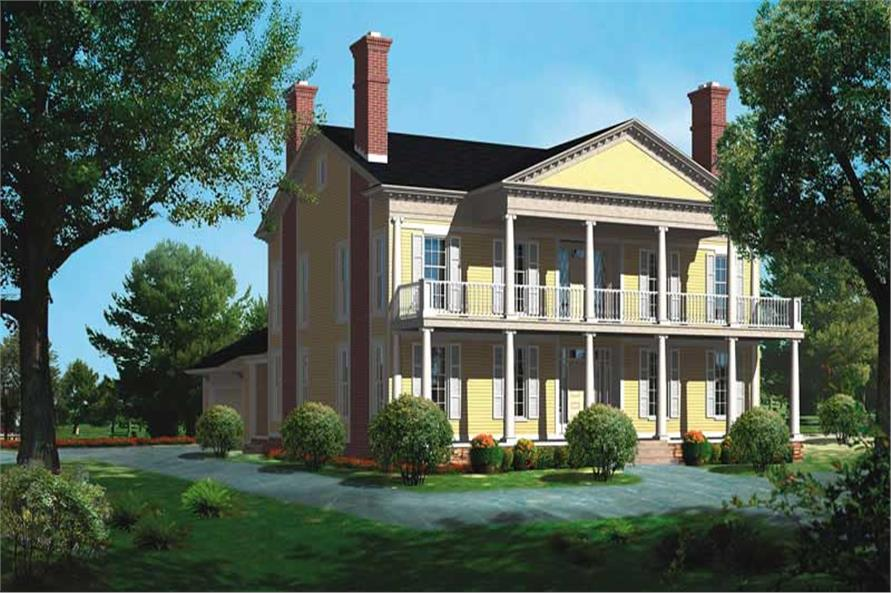 Main image for house plan # 18581