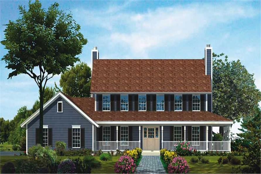 Main image for house plan # 18611