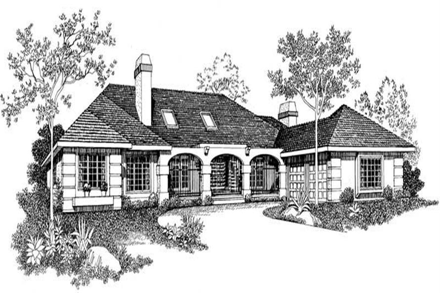 Main image for house plan # 18635