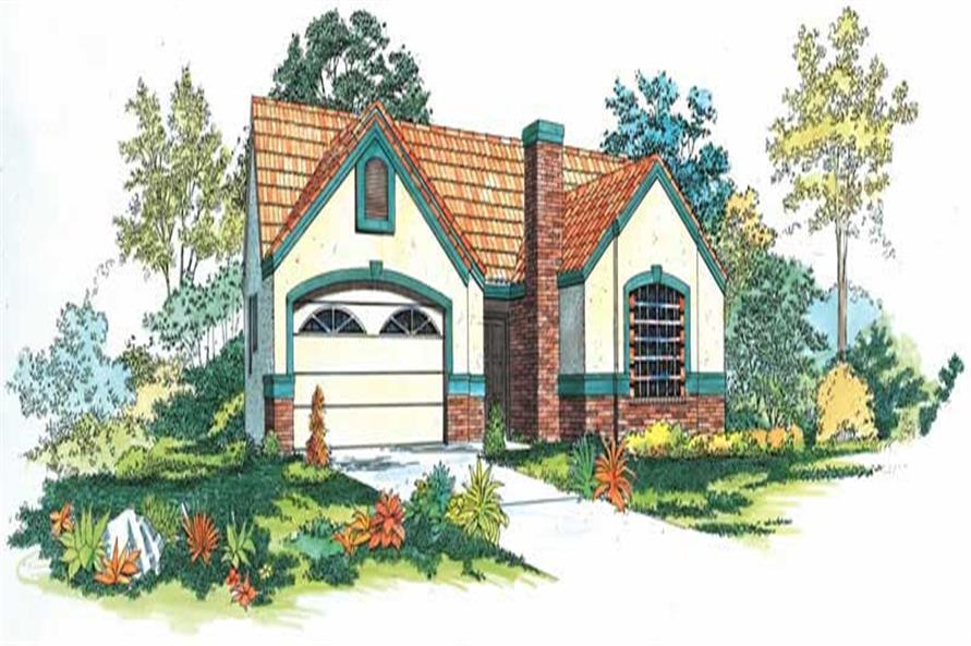 Main image for house plan # 18436
