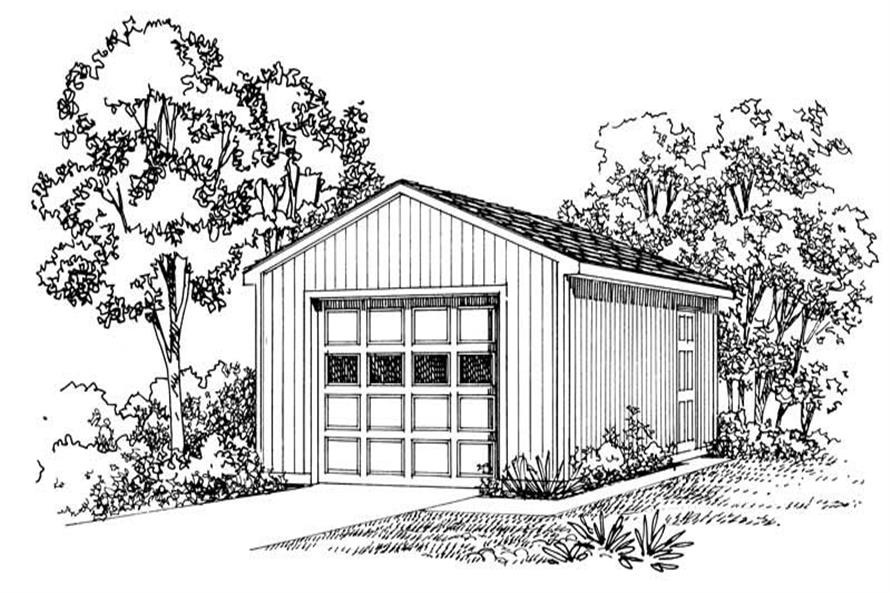 Main image for house plan # 18803