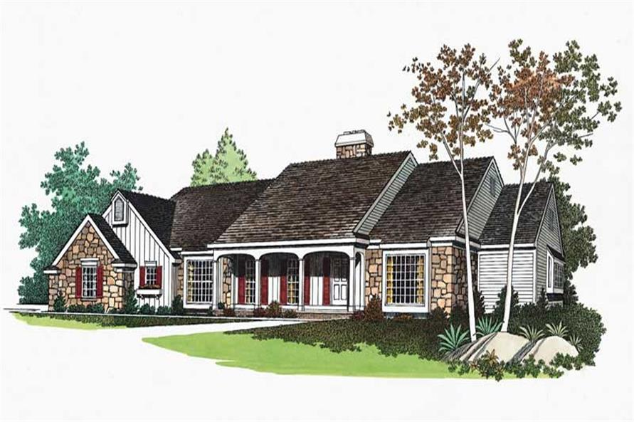 Main image for house plan # 18642