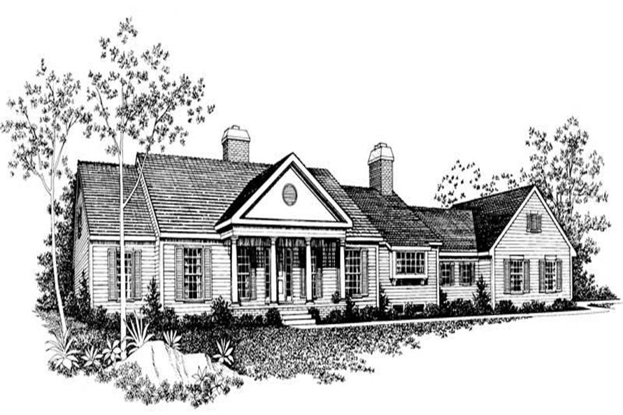 Main image for house plan # 18644