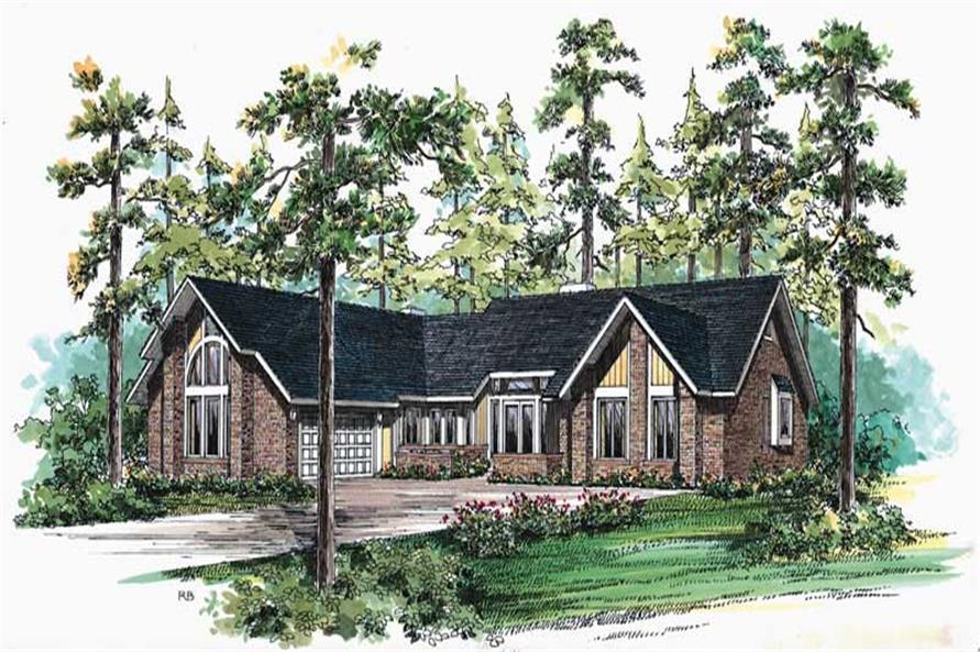 Main image for house plan # 18649