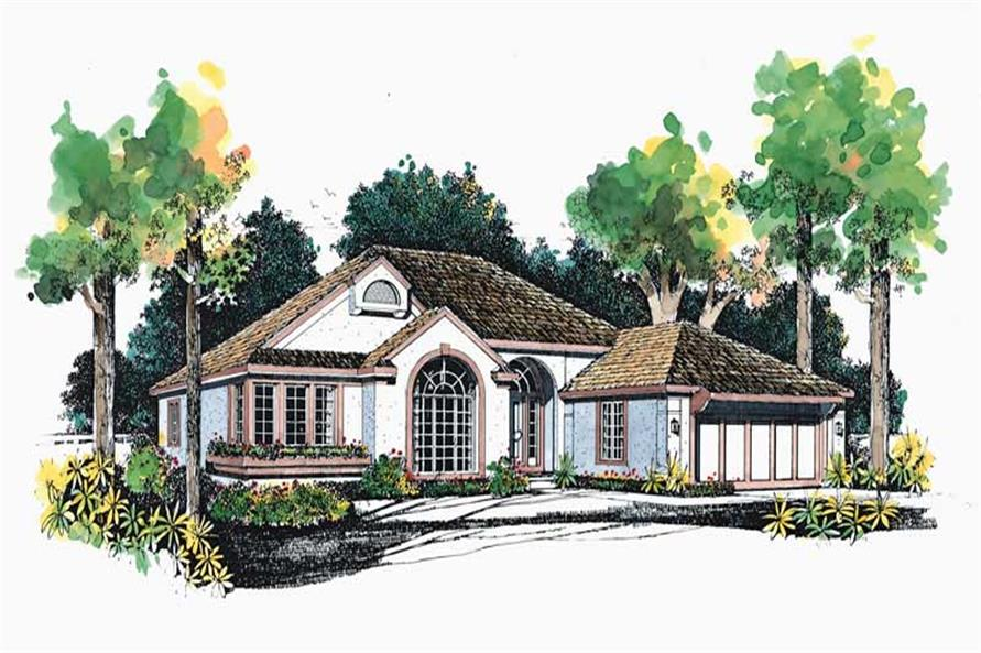 Main image for house plan # 18258
