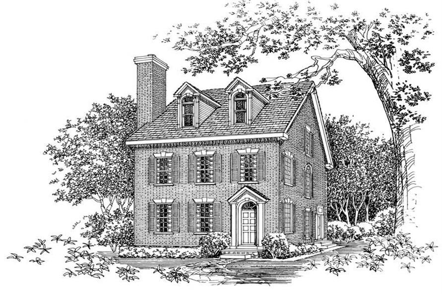 Main image for house plan # 18298