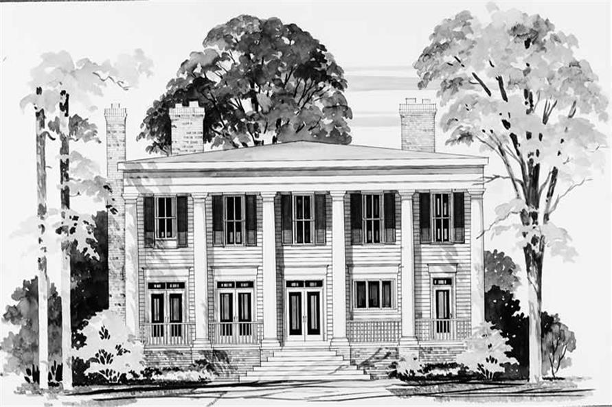 House Plan #137-1586