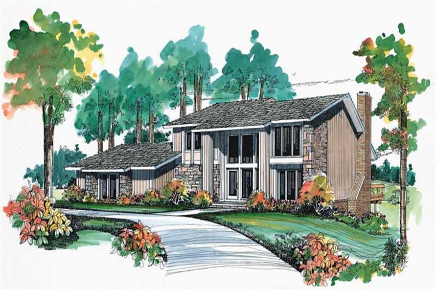 Main image for house plan # 18653