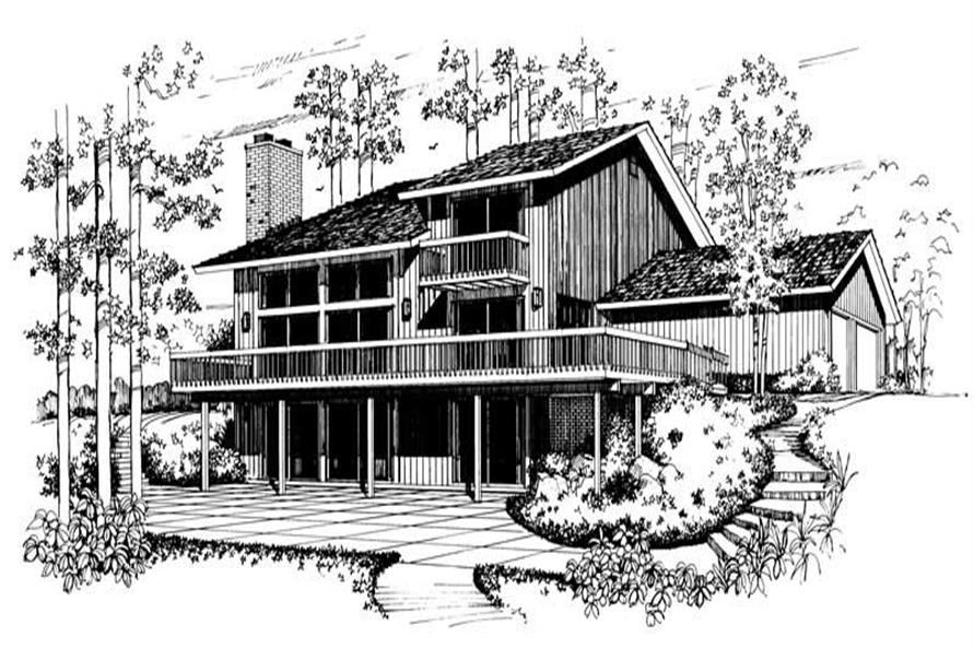 House Plan #137-1589
