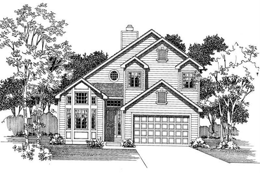 Main image for house plan # 18458