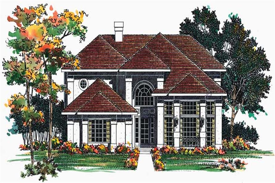 Main image for house plan # 18475