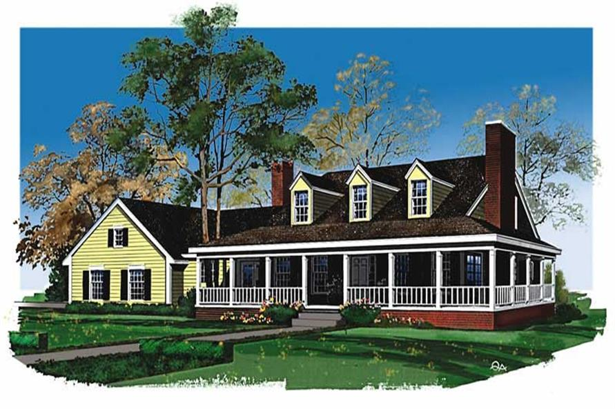 Main image for house plan # 18488