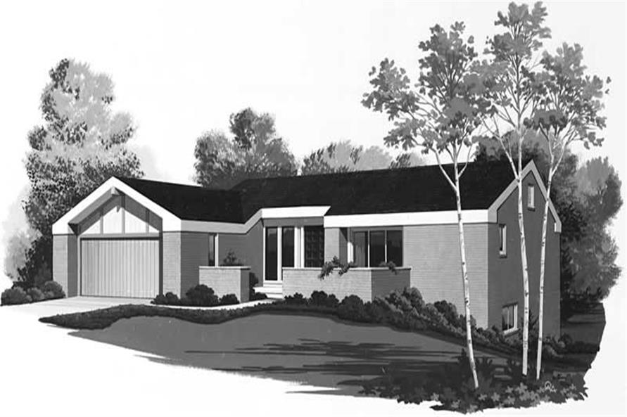 Main image for house plan # 18503