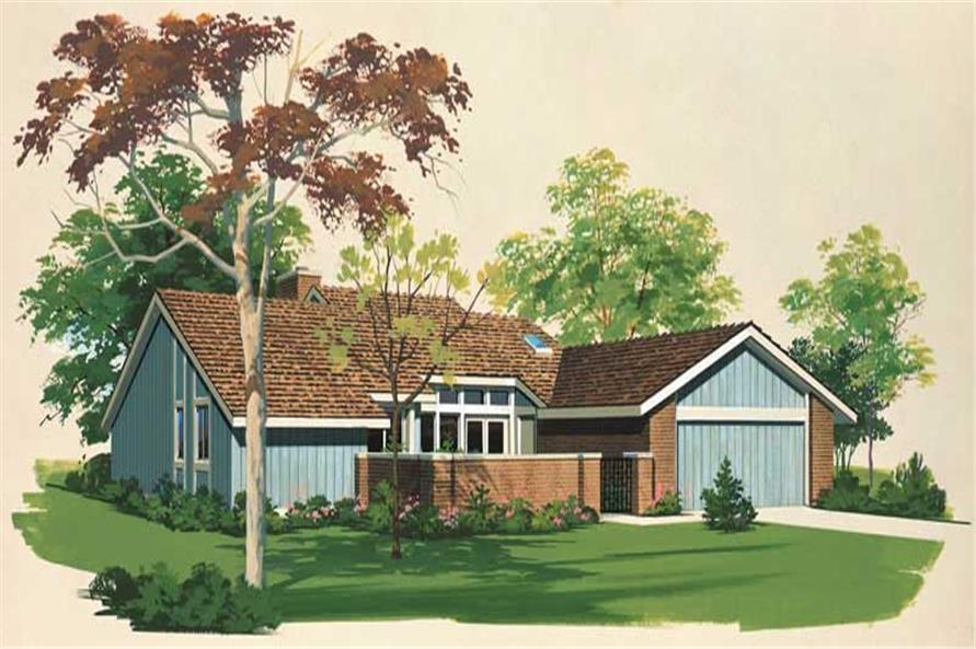 Main image for house plan # 18506