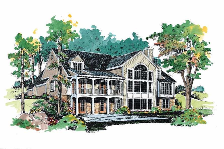 House Plan #137-1600