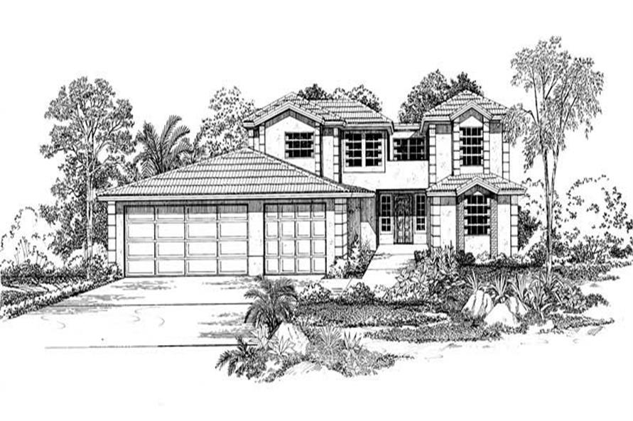Main image for house plan # 18447