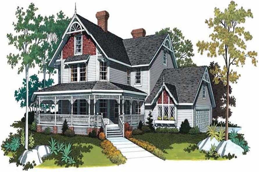 Main image for house plan # 18555