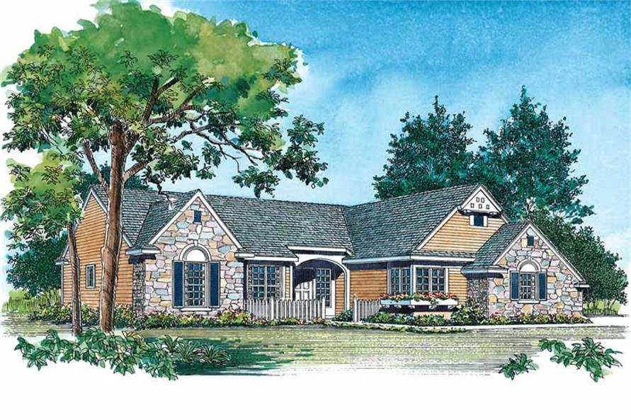 Main image for house plan # 18556