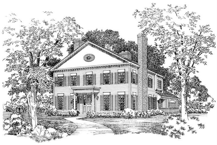 Main image for house plan # 18568