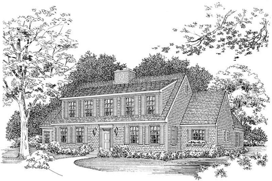 Main image for house plan # 18573