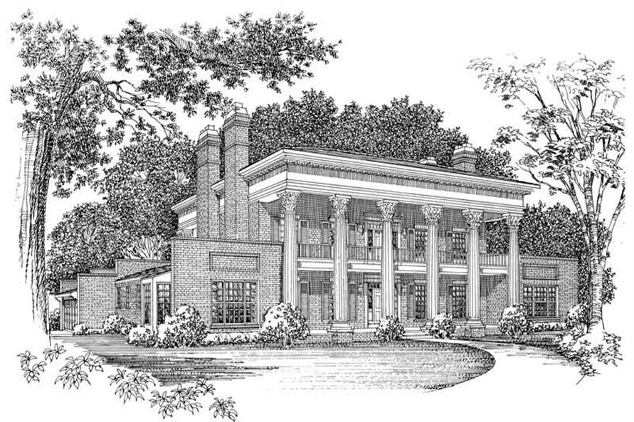 Main image for house plan # 18574