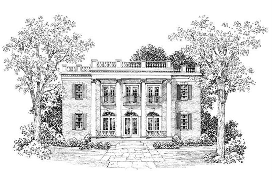 Main image for house plan # 18579