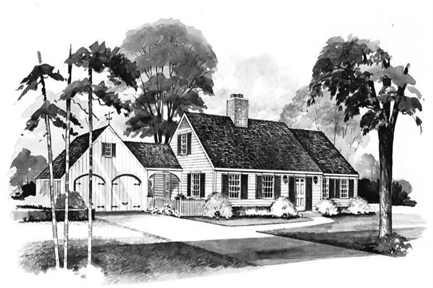 Main image for house plan # 18586