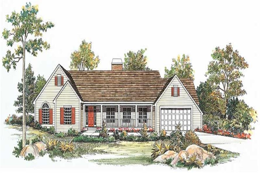 Main image for house plan # 18639