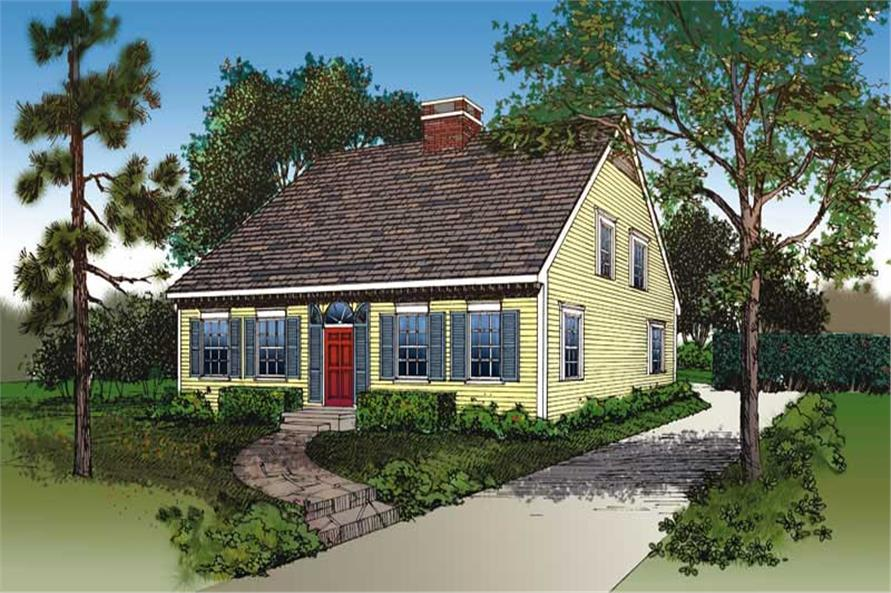 Main image for house plan # 18313