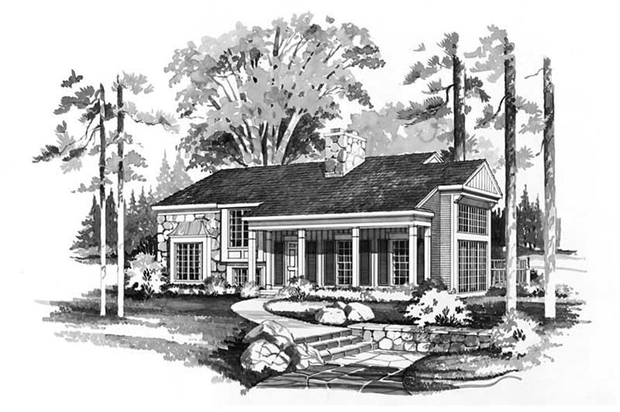 Main image for house plan # 18410