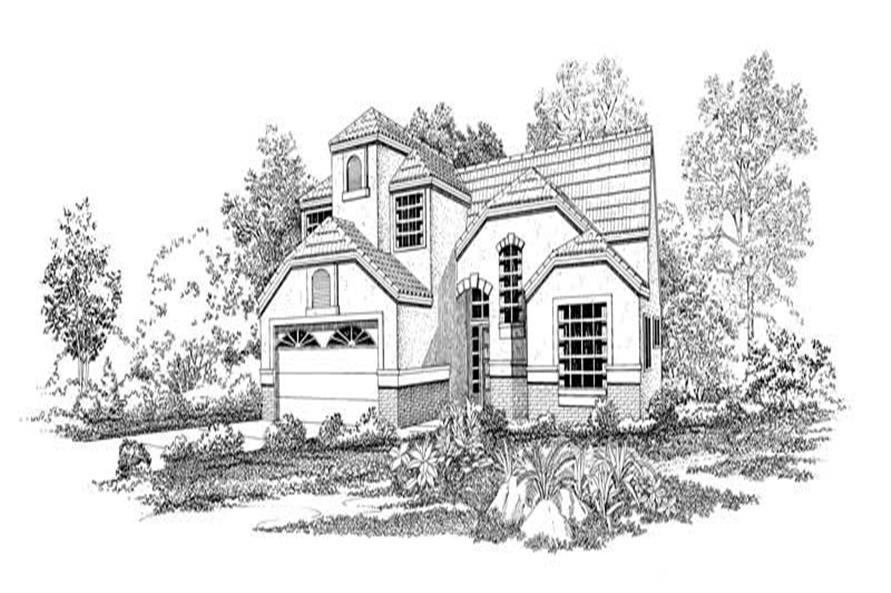 Main image for house plan # 18438