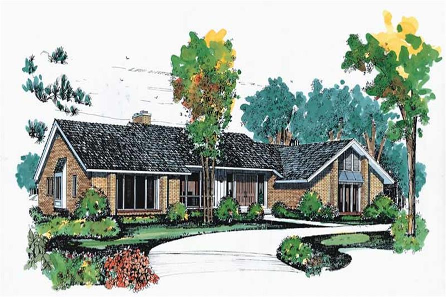 Main image for house plan # 18652